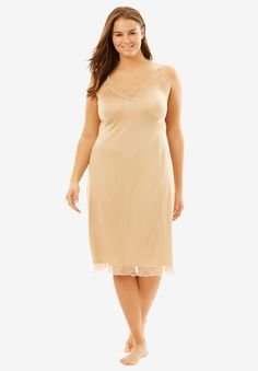 Comfort Choice Women's Plus Size Double Skirted Full Slip Party Dresses For Women, Casual Dresses For Women, Short Dresses, Dresses For Work, Clothes For Women, All Fashion, Fashion Beauty, Plus Size Dresses, Plus Size Outfits