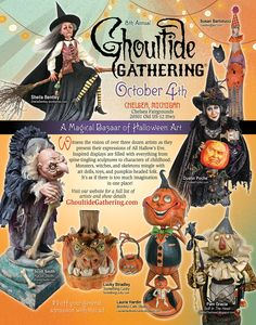 Ghoultide Gathering advertising PRIMS magazine 2014