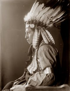 Sioux warrior Whirling Hawk, via Flickr.