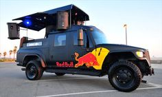 """The Red Bull DJ Truck will be at Armoury for the """"Party in the Parking Lot"""" Opening Day April 5th No Cover"""