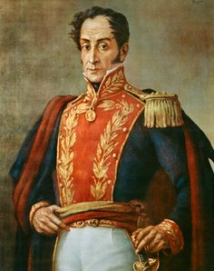 Simon Bolivar, el Libertador, liberated Latin America from the Spanish. A great man who is little known in the UK.