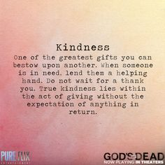 Pure Kindness Quotes