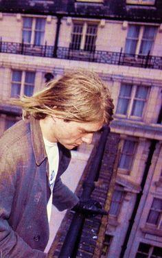 Kurt Cobain, London, UK. 1991