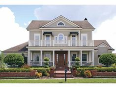 Eplans Colonial House Plan - Traditional, Classic Colonial - 5164 Square Feet and 6 Bedrooms from Eplans - House Plan Code HWEPL67102