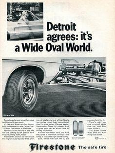 1968 Firestone Tires Advertising Road & Track July 1968 | Flickr - Photo Sharing!