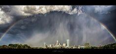 Storm over Charlotte, NC