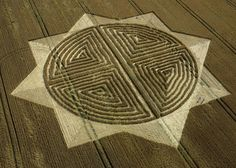 cool crop circles - Google Search