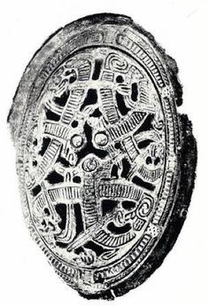 Tortoise Brooch, Morberg - 10th century