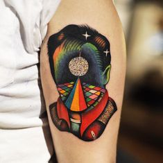 Young Artist's Gorgeous Tattoos Will Catch Your Eye With Their Burst Of Colors