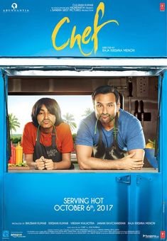 Chef is an upcoming Hindi film directed by Raja Krishna Menon. It features Saif Ali Khan and Padmapriya in the lead roles. It is an official remake of American film Chef Streaming Vf, Streaming Movies, Movie Chef, Movie Tv, Pinned Up, The Image Movie, Movies Free, Watch Movies, Music