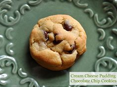 cream cheese pudding chocolate chip cookies...oh my.