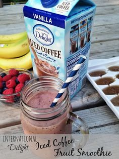 International Delight Iced Coffee Fruit Smoothie