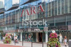 Zara Store in Dublin Royalty Free Stock Photo