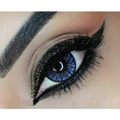 UNDER THE SEA Blue Contact lenses Colours of the Wind - 1 Year (Pair) #bestcontactlenses #awesomecontactlenses #undertheseablue