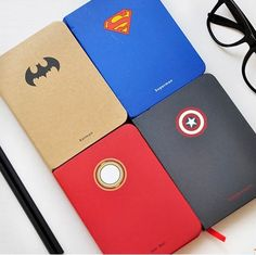 Cheap notebook entertainment, Buy Quality notebook car power supply directly from China notebook Suppliers: Superman Series Notebook Creative Diary Book Notepad material escolar School Office supplies Stationary Notebook Diy, Notebook Design, Notebook Covers, Journal Notebook, Journals, Hero Marvel, Marvel Dc, Superman, Batman