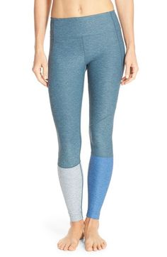 Outdoor Voices 'Dipped Warmup' Colorblock Compression Leggings