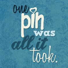 Who can pin just one? :)