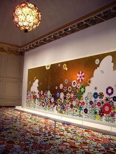 Takashi Murakami - Versailles Exhibit | Hobby&decor | #decor #hobbydecor #arte #design #art