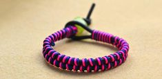 How to Make Simple DIY Leather Cord Bracelet in 3 Steps by Your Own