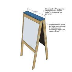 ¡Aprende a Construir un Increíble Caballete Para Pintar Para Niños! - Ideas  Perfectas ced9e297fd2