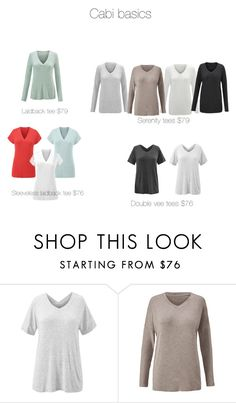 """""""Cabi basics"""" by clothesdeb on Polyvore featuring CAbi"""