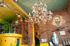 Old scrappy chandelier