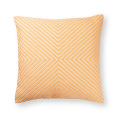 Create a chic-chill out zone that is calm central and let X mark the comfiest spot in your home with our Peach X Woven Stripe Cushion