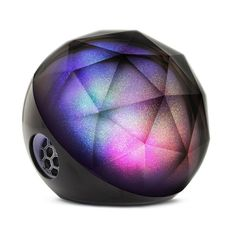 A bluetooth speaker that looks like it came from outer space.