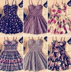 Super cute dresses<3