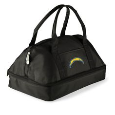The San Diego Chargers Potluck Casserole Tote by Picnic Time is great for bringing hot dishes tailgating