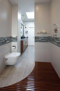 nassbereich schwarz weiß farben mosaik wand deko | bad | pinterest, Hause ideen