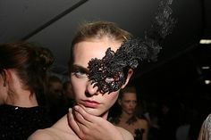 Valentino Couture Masks by sansartifice, via Flickr
