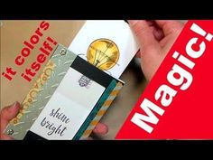 Card Trick! How to make a Magic Card with NO SPECIAL DIES! | Thefrugalcrafter's Weblog #cardmagictutorials