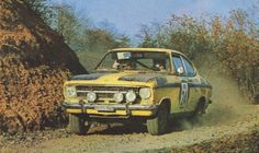 "San Remo 1972 - Brai Salvatoreflag""Rudy""Jolly ClubiconOpel Kadett Rallye"