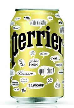 Perrier #socialmedia #packaging PD