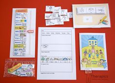 Starting School in Ireland Pack ENGLISH LANGUAGE by Therapics