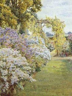 Robin in a Garden: Beatrice Parsons