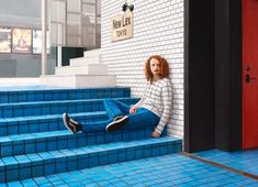 Knitted Camouflage: Handmade Outfits for Hiding in Built Environments