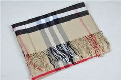 Burberry Nova Check Cashmere Large Scarf NIB long fringe 180 X 70 cm Long Fringes, Large Scarf, Fashion Scarves, Scarf Styles, Burberry, Long Front Bangs