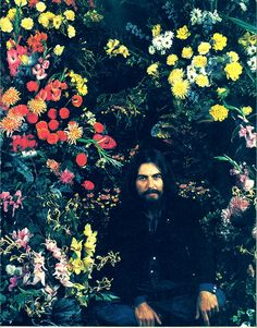 "George Harrison. ""Love one another."""