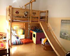 Etagenbett Mit Rutsche Für Zwei : Hochbett mit rutsche kinderzimmer ausstattung und möbel gebraucht