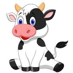 cartoon cow drawing | cute cartoon cows cute cartoon farmyard cows clip art images