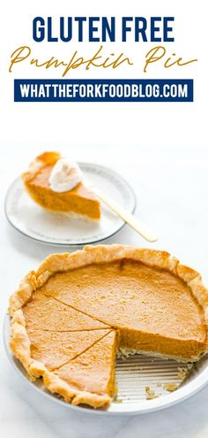 Frugal Food Items - How To Prepare Dinner And Luxuriate In Delightful Meals Without Having Shelling Out A Fortune This Is A Classic, Easy Recipe For Gluten Free Pumpkin Pie. Its Made With A Flaky Pie Crust, Creamy Pumpkin Filling, And Warm Spices. Gluten Free Pumpkin Pie, Gluten Free Lasagna, Gluten Free Thanksgiving, Gluten Free Pie, Best Gluten Free Recipes, Pumpkin Pie Recipes, Healthy Recipes, Gluten Free Cookies, Gluten Free Baking