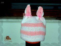 Knitted children's rabbit cap !!! Little Princess, Princesses, Rabbit, Scarves, Beanie, Cap, Dresses, Bunny, Scarfs