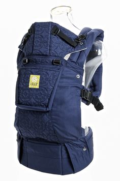 725bfb5f881 Lillebaby Complete EMBOSSED Baby Carrier - Navy