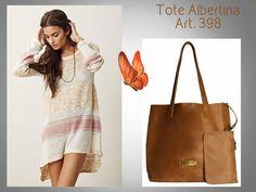 #ALBERTINA TOTE Look 🌹 #TOTE Albertina.. (Tendencia!) Art. 398 (Nuestra Tote más vendida!!!!!) Precio......> $ 1424.- Acá la podés ver y COMPRAR: http://www.mariapuyalcueros.com.ar/products/albertina--6 CARACTERISTICAS: CARTERA GRANDE Medidas: Ancho: 46 cm. Alto: 35 cm. Base: 17 cm. Manija Corta: 60 cm. De cuero chata. Manija Larga: No tiene. Colores: Negro, suela, chocolate ,visón y platino