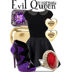 """""""Evil Queen"""" by lalakay on Polyvore - love the shoes"""