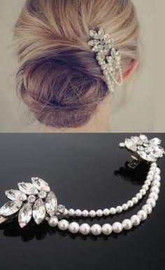 Top 5 Bridal/Wedding Hairstyles for 2013 - Jules Bridal Jewellery