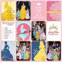 Disney Project Life page created by neeceebee featuring Project Mouse Princess by Sahlin Studio & Britt-ish Designs - 2