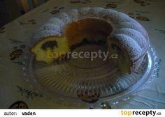 Výborná bábovka se zakysanou smetanou recept - TopRecepty.cz Pancakes, Sweet Tooth, Sweet Treats, Food And Drink, Pudding, Breakfast, Morning Coffee, Sweets, Crepes